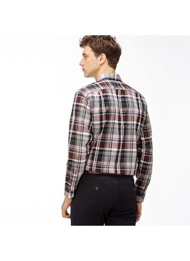 Lacoste Erkek Regular Gömlek CH2048.48R Bordo